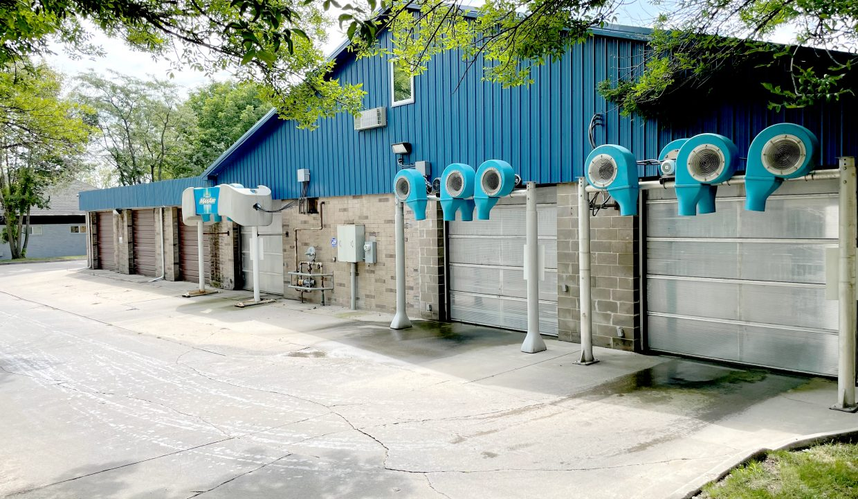 Sudzees exterior, dryers